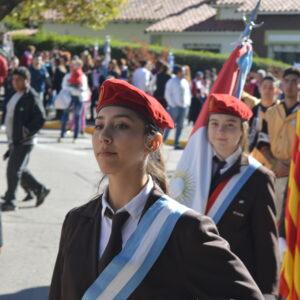 Participación del Instituto en el desfile del 25 de Mayo