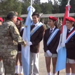 El Falla invitado especial en el Homenaje al Día del Ejército.
